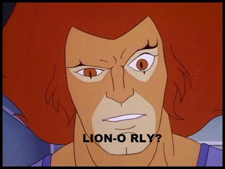 Lion on Lion O Rly2