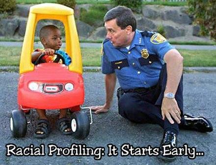 Funny Pics / Racial Profiling