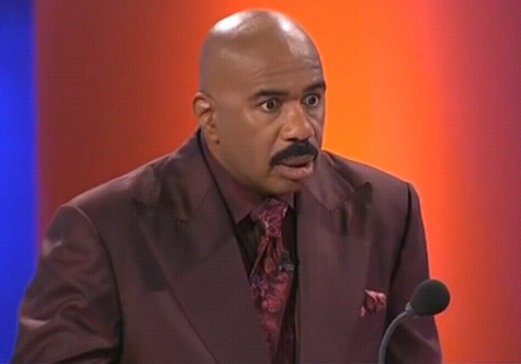 Steve Harvey Shocked