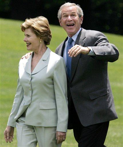 president george w bush funny. Former President George W.