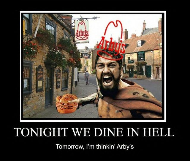 Tonight We Dine in Hell!