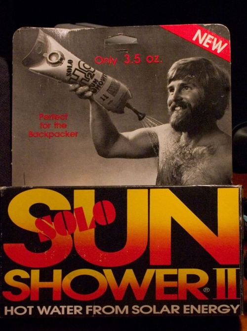 Sun Shower Dude
